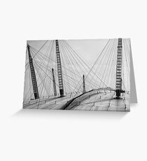 O2 roofscape Greeting Card