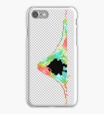 Pixelated Faceless Girl iPhone Case/Skin
