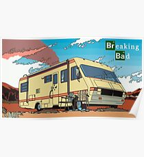 Breaking Bad RV Poster