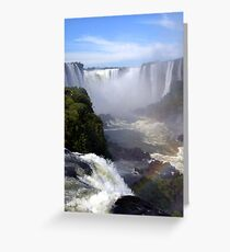 Iguaçu Falls Greeting Card