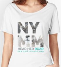 NYMM Lioness Women's Relaxed Fit T-Shirt