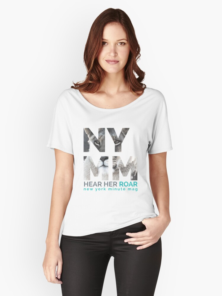NYMM Lioness Women's Relaxed Fit T-Shirt Front