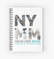 NYMM Lioness Spiral Notebook