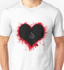 The fading flame of toxic love Unisex T-Shirt
