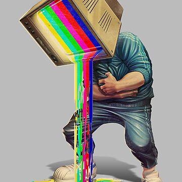 Hombre de TV de andremuller