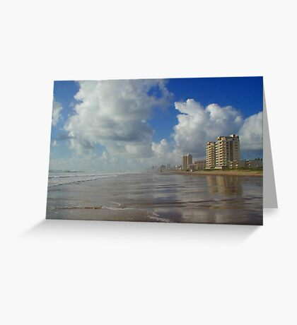 The Beach at South Padre Island Greeting Card