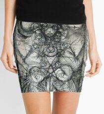 The Mother Matrix Mini Skirt
