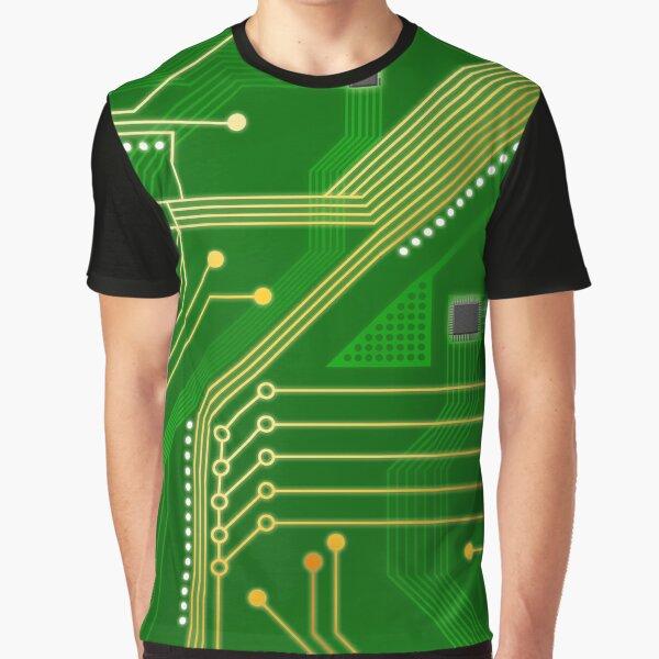 Circuitboard Graphic T-Shirt