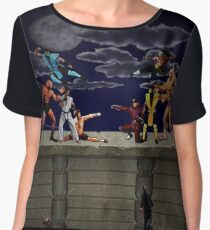 Arcade Fight Women's Chiffon Top