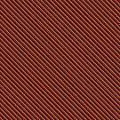 Stripes (Small) - Red and Gold by Sarinilli