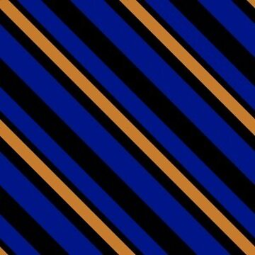 Stripes - Blue and Bronze by Sarinilli