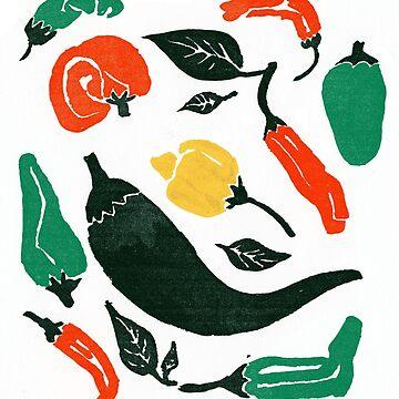 Pepper Pepper Pepper! Color by Tentaklingon