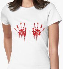Bloody hands boobs T-Shirt