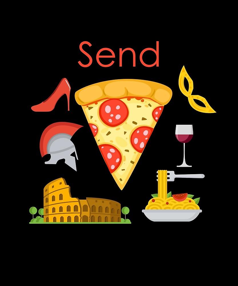 Send Pizza Italian Edition by Tranquilo