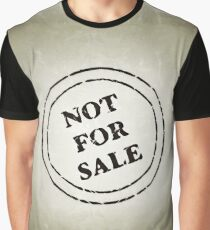 Not for sale grunge seal Graphic T-Shirt