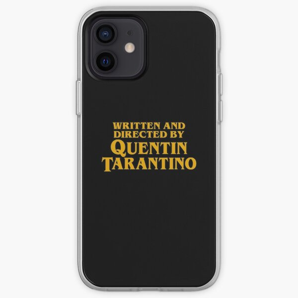 Written and Directed by Quentin Tarantino iPhone Soft Case