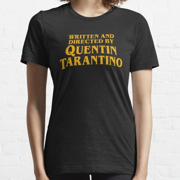 Written and Directed by Quentin Tarantino Camiseta esencial