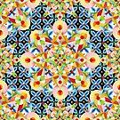 Elizabethan Pastel Mandala by PatriciaSheaArt