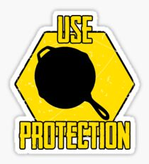Use Protection Sticker