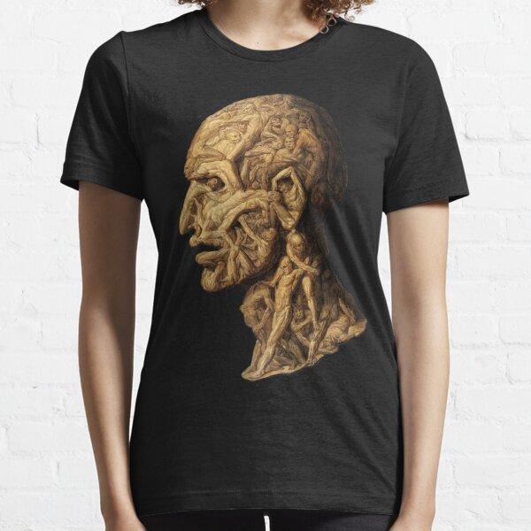 HD Testa anatomica, restored, by Filippo Balbi (1806 - 1890) Essential T-Shirt