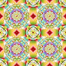 Bijoux Ombre Pattern by PatriciaSheaArt