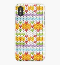 Witty Knitty Fair Isle iPhone Case/Skin
