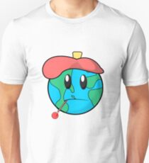 Sick Planet Earth Global Warming Man Made Fever T-Shirt