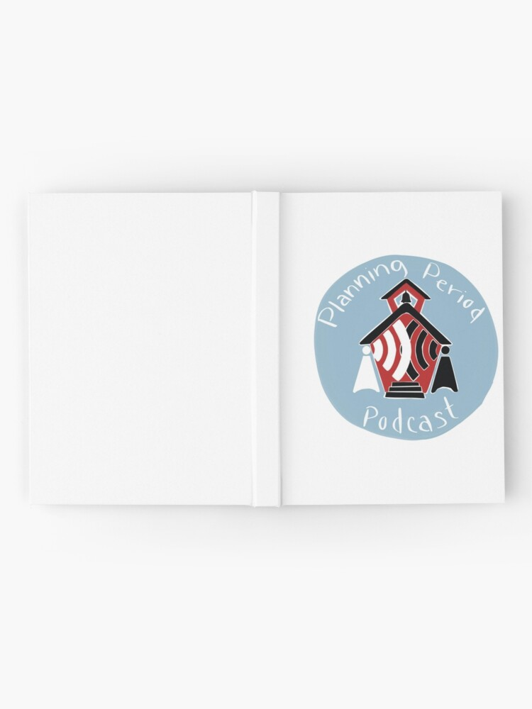 Alternate view of Planning Period Podcast Hardcover Journal