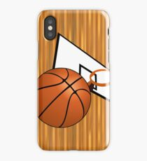 Basketball with Hoop iPhone Case