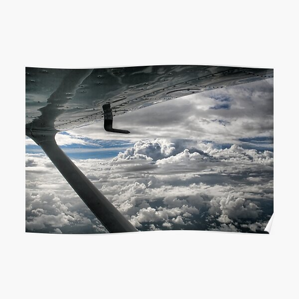 Cessna Skies Poster