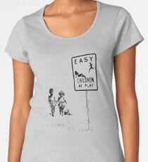 Easy...Children at play... Women's Premium T-Shirt