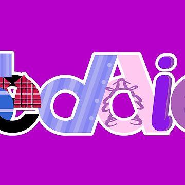 Seddie logo - purple by phantompearl