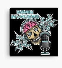 Brain Invaders Canvas Print
