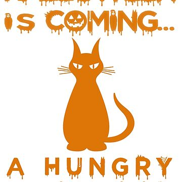 Hungry Cat in Halloween by Nazyl