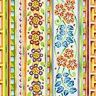 Parterre Botanique Vertical by PatriciaSheaArt