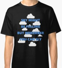 Kid Cudi Lyric Sky Fall Cloud Shirt Classic T-Shirt