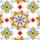 Beaux Arts Mandala by PatriciaSheaArt