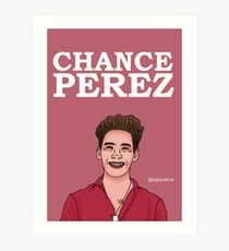 Chance Perez Design Art Print