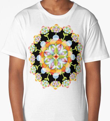 Jaipur Blossom Mandala Long T-Shirt