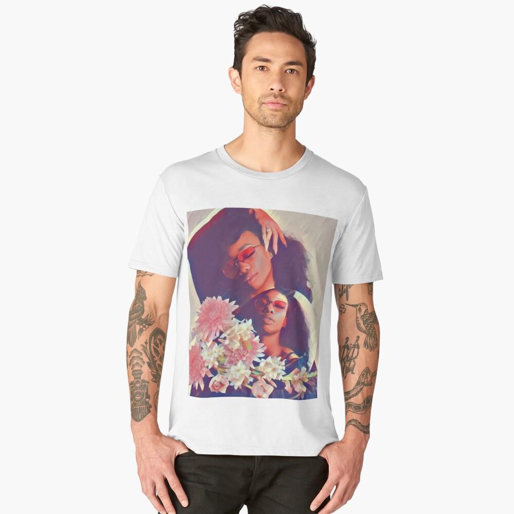 SZA // FLOWERS Men's Premium T-Shirt Front