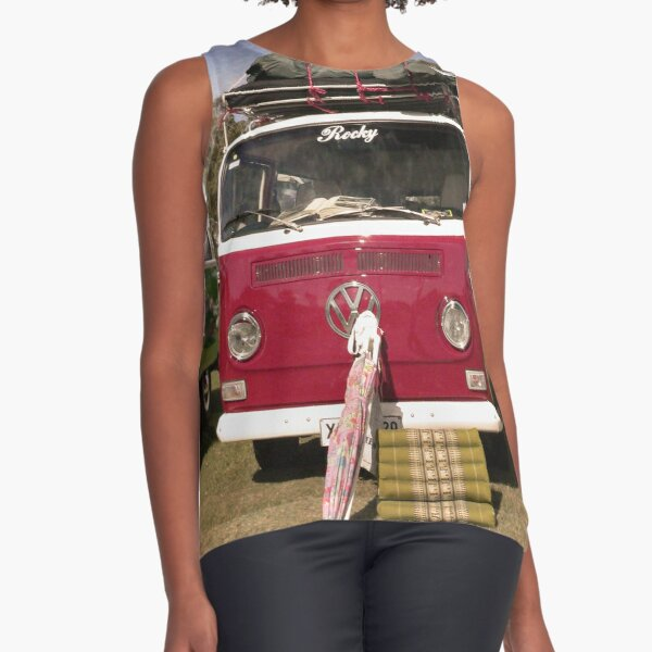 Kombi Travels Sleeveless Top