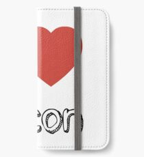 I love Bacon  iPhone Wallet/Case/Skin
