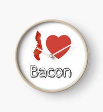 I love Bacon  Clock
