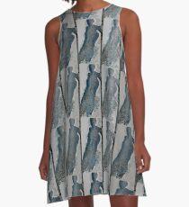 Unique A-Line Dress