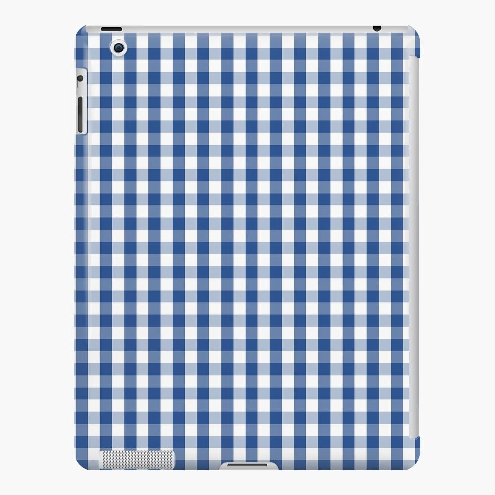 Delphinium Blue Mini cuadros a cuadros de cuadros Funda y vinilo para iPad