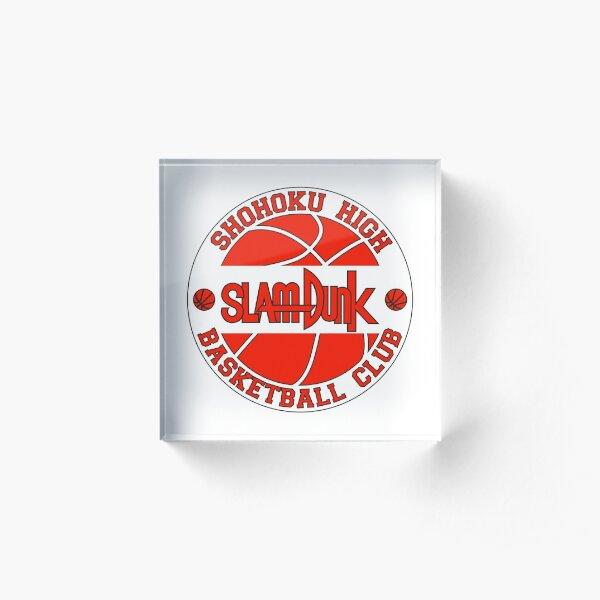 Shohoku High Basketball Club Logo Acrylic Block