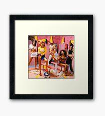 SPICE GIRLS LOCKER ROOM Framed Print