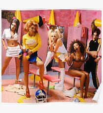 SPICE GIRLS LOCKER ROOM Poster