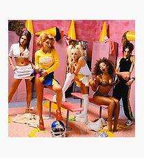 SPICE GIRLS LOCKER ROOM Photographic Print