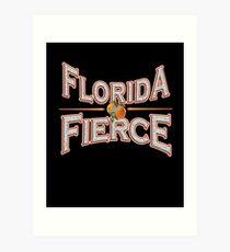 Floridian Strong Florida Fierce Hurricane Irma T-shirt Art Print